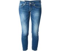 Ausgebleichte Skinny-Jeans