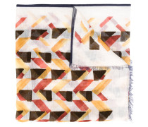 Schal mit geometrischem Print