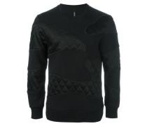 Sweatshirt mit Steppeinsätzen