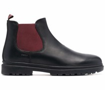 ankle-length leather boots