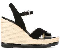 Klassische Wedge-Sandalen