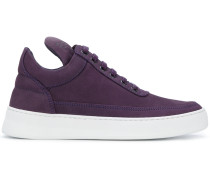 low top plain lane sneakers
