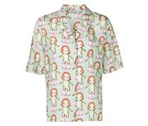 Imo Margot-print shirt