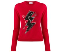 'Red Girl' Pullover