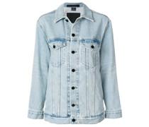loose-fit denim jacket