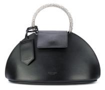 metal handle clutch bag