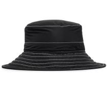 black Charlotte bucket hat