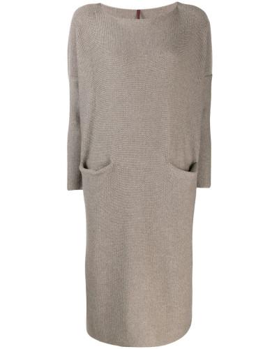 Gestricktes Oversized-Kleid