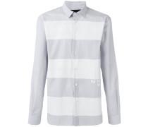 Hemd mit Querstreifen - men - Baumwolle - 46