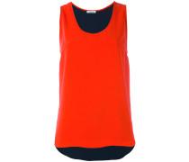 - Top mit rundem Ausschnitt - women - Polyester