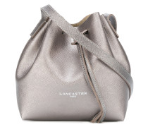 Handtasche in Metallic-Optik