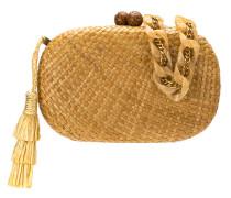 hanging tassel clutch