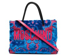 Handtasche mit Tapisserie-Muster