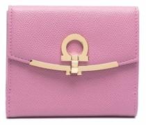 Portemonnaie mit Gancini-Detail