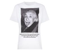 T-Shirt mit Einstein-Print