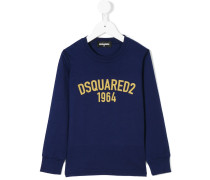 logo-printed sweatshirt