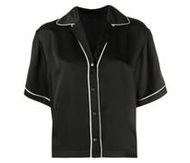 Baseballhemd aus Seide