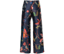 Midnight Bloom trousers