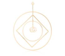 18kt Goldcreole mit GG