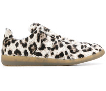 Slip-On-Sneakers mit Leopardenmuster