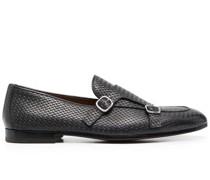 Strukturierte Monk-Schuhe