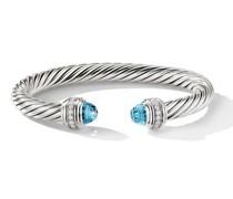 'Cable' Armreif mit Diamanten