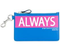 Garavani always print coin purse