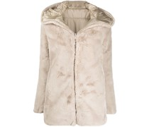 D4007W FURYY reversible faux-fur padded coat