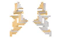 Vergoldete Ohrstecker aus Sterlingsilber