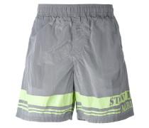 logo print swim shorts - men - Polyamid - M