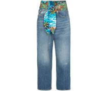 'Jasper' Jeans mit Bindegürtel