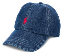 Jeans-Baseballkappe mit Logo