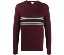 Pullover mit gestricktem Einsatz