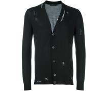 Cardigan in Distressed-Optik - men