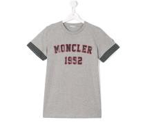 T-Shirt mit Logo-Print - kids - Baumwolle - 14