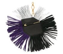 fringed purse key chain