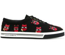 devil designer patch Brooklyn sneakers
