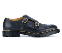 Leather Monkstrap Brogues