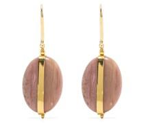 Boucle D'Oreill stone-pendants earrings