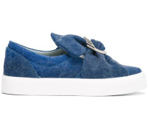Slip-On-Sneakers mit Schleife - women