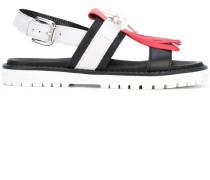 Sandalen mit Fransen - women