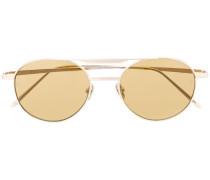 'Lou' Sonnenbrille mit ovalem Gestell