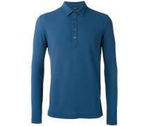 Poloshirt mit langen Ärmeln - men - Baumwolle