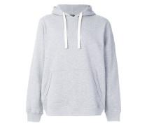 long sleeved logo hoodie