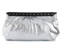 'Luz' Clutch in Metallic-Optik