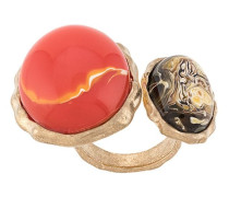 Ring mit zwei Steinen