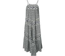 - Seidenkleid mit geometrischem Muster - women