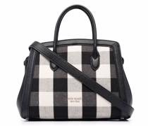 Kleine Handtasche mit Karo