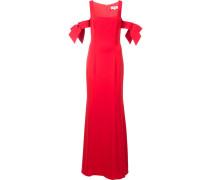 - Schulterfreies Kleid mit Schleifen - women