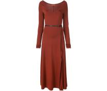 'Phoebe' Kleid mit V-Ausschnitt